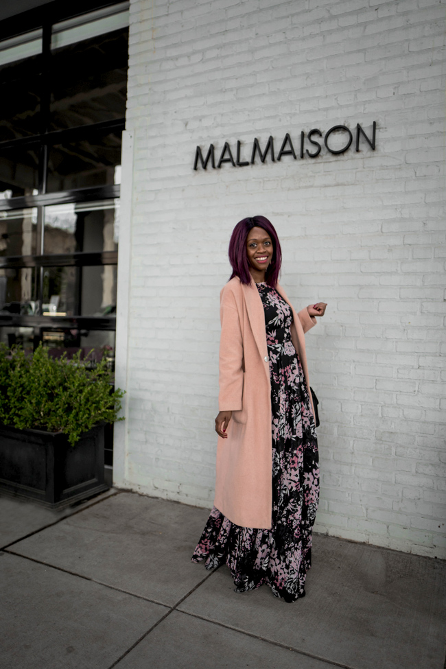How to Transition a Maxi Dress from Winter to Spring