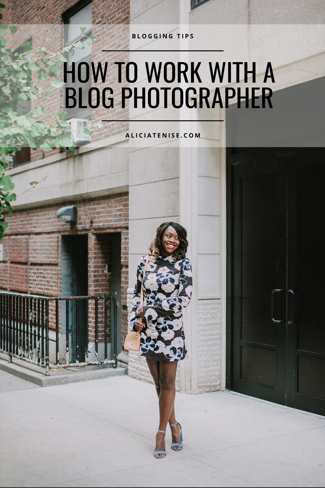 D.C. blogger Alicia Tenise shares tips and tricks on how to collaborate with blog photographers