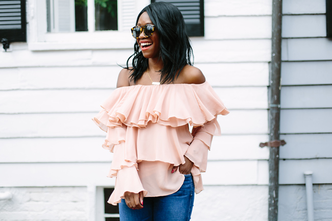 How to Wear the Ruffle Trend