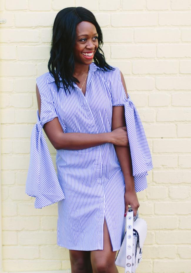 Stripe Nautical Dress for Spring