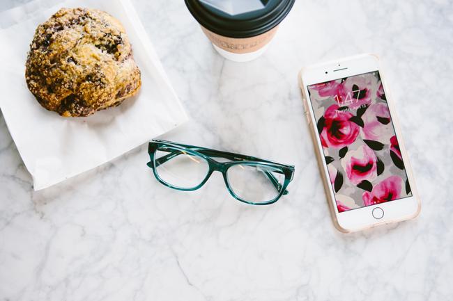 Bebe Eyeglasses, Kate Spade Phone Background