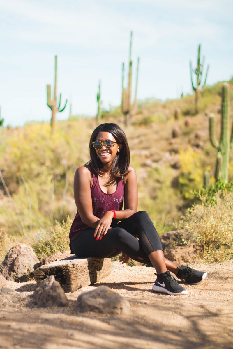 Travel blogger Alicia Tenise takes a trip to Mesa Arizona to hike the Wind Cave Trail
