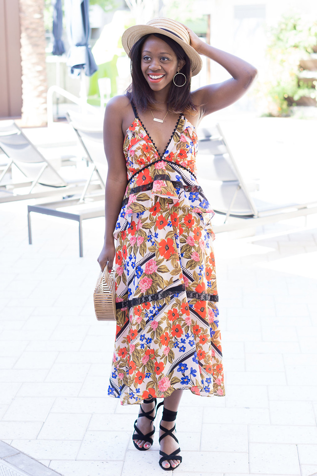 Floral Dress for Vacation