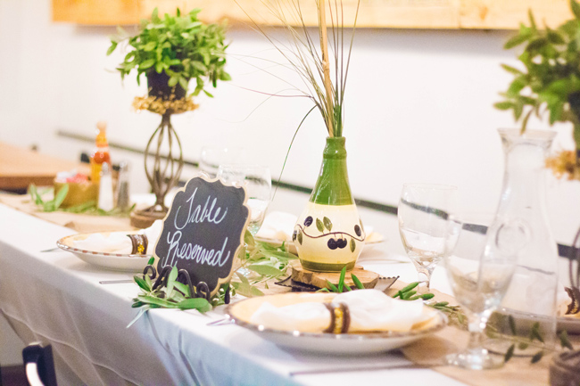 Chalkboard Tablescape Styling Ideas