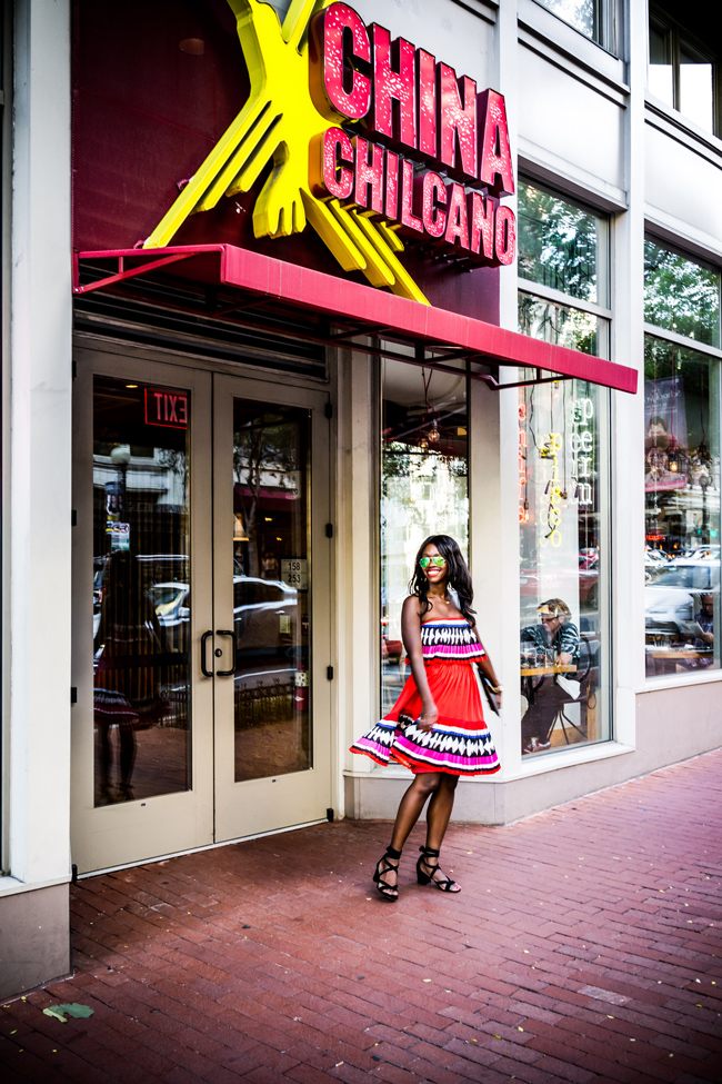 Lifestyle Bblogger Alicia Tenise reviews China Chilano in Washington D.C.
