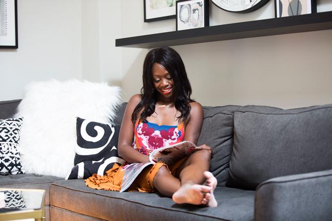 Alicia Tenise Blogger Apartment Tour
