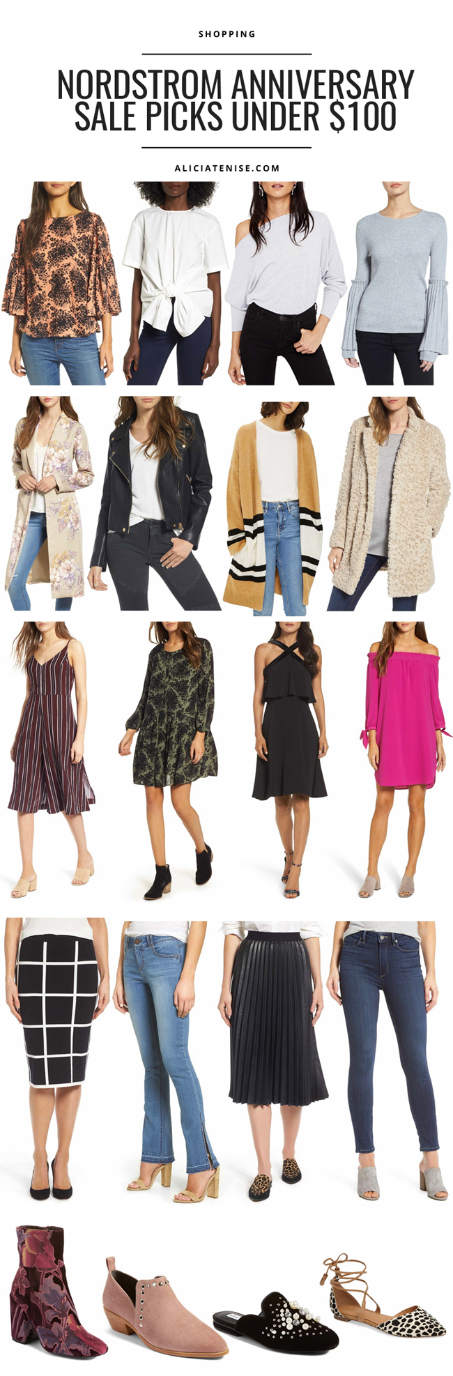 Blogger Alicia Tenise shares her top Nordstrom Anniversary Sale 2017 Picks under $100 - 2017 Nordstrom Anniversary Sale Picks Under $100 by DC fashion blogger Alicia Tenise