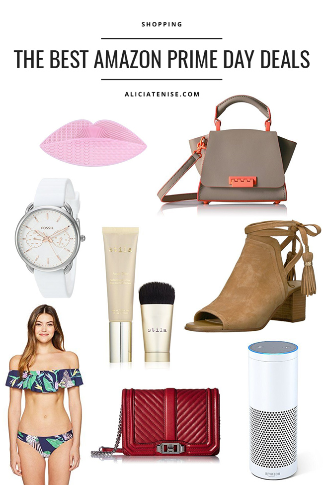 Blogger Alicia Tenise shares her Amazon Prime Day Fashion and Beauty Picks