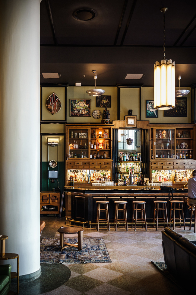 Ace Hotel New Orleans Lobby Bar - New Orleans Travel Guide featured by popular DC travel blogger, Alicia Tenise