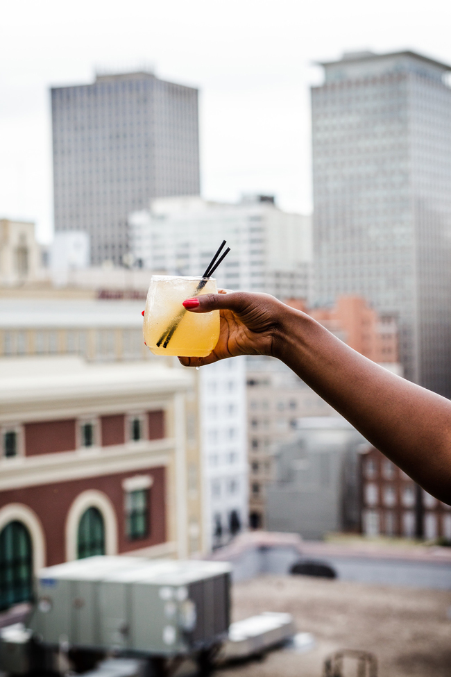 Ace Hotel New Orleans Rooftop Deck - New Orleans Travel Guide featured by popular DC travel blogger, Alicia Tenise