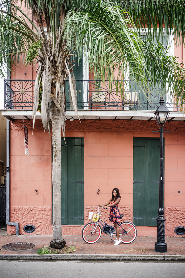 Bike Tours in French Quarter New Orleans - New Orleans Travel Guide featured by popular DC travel blogger, Alicia Tenise
