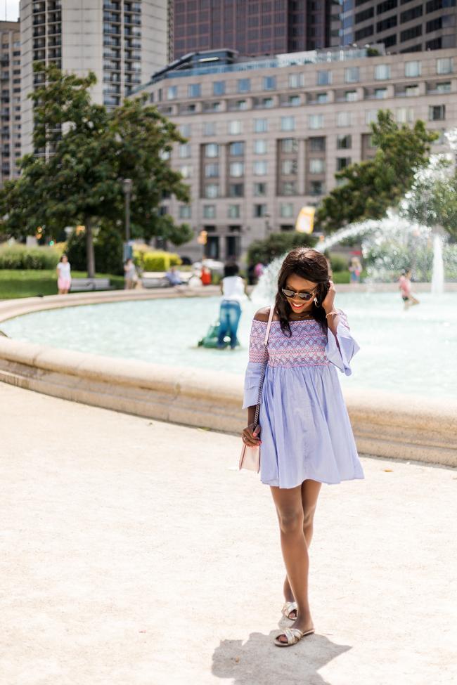 Affordable Off the Shoulder Dress for Summer
