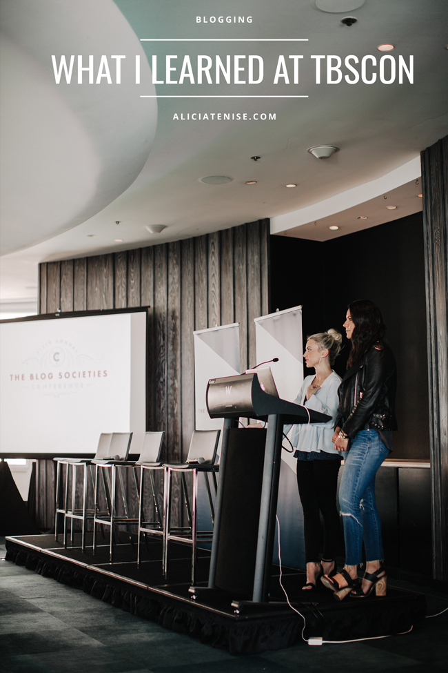 Blogger Alicia Tenise recaps what she learned at the 5th Annual Blog Societies Conference at the W Lakeshore Hotel in Chicago, IL