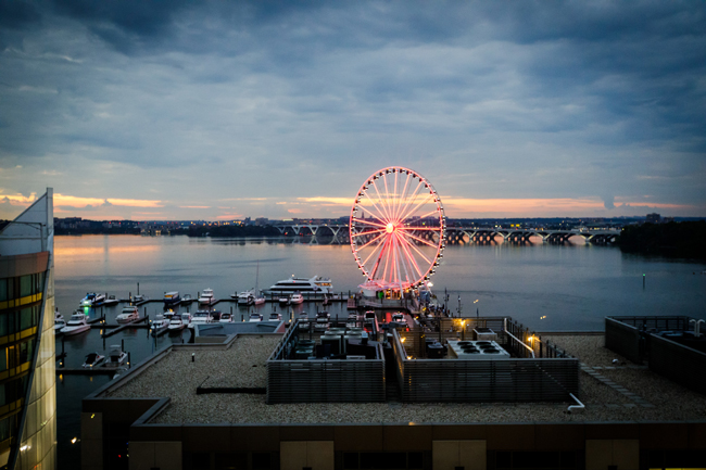 AC Hotel Marriott National Harbor Waterfront Room Views
