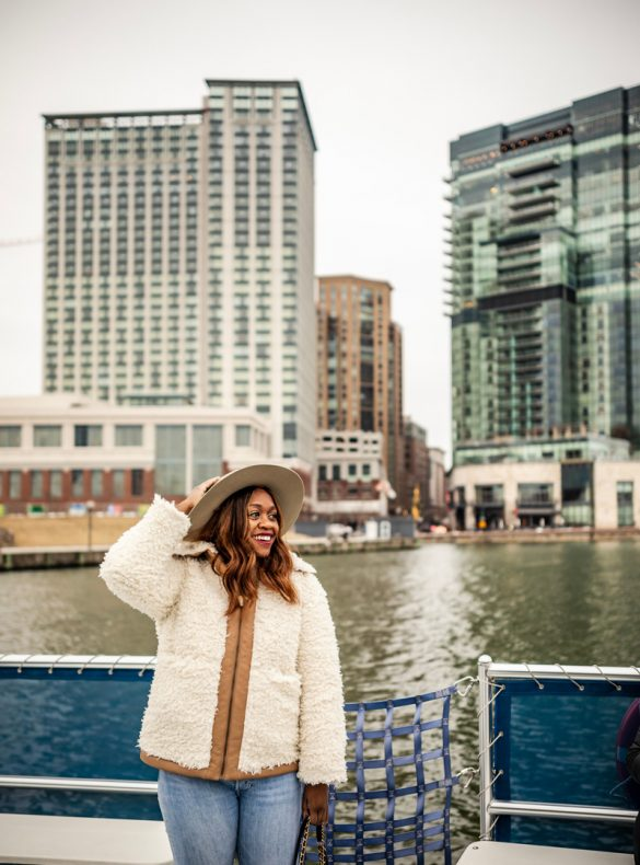 A Weekend in Baltimore travel guide featured by top US travel blogger, Alicia Tenise: Water Taxi Inner Harbor Baltimore