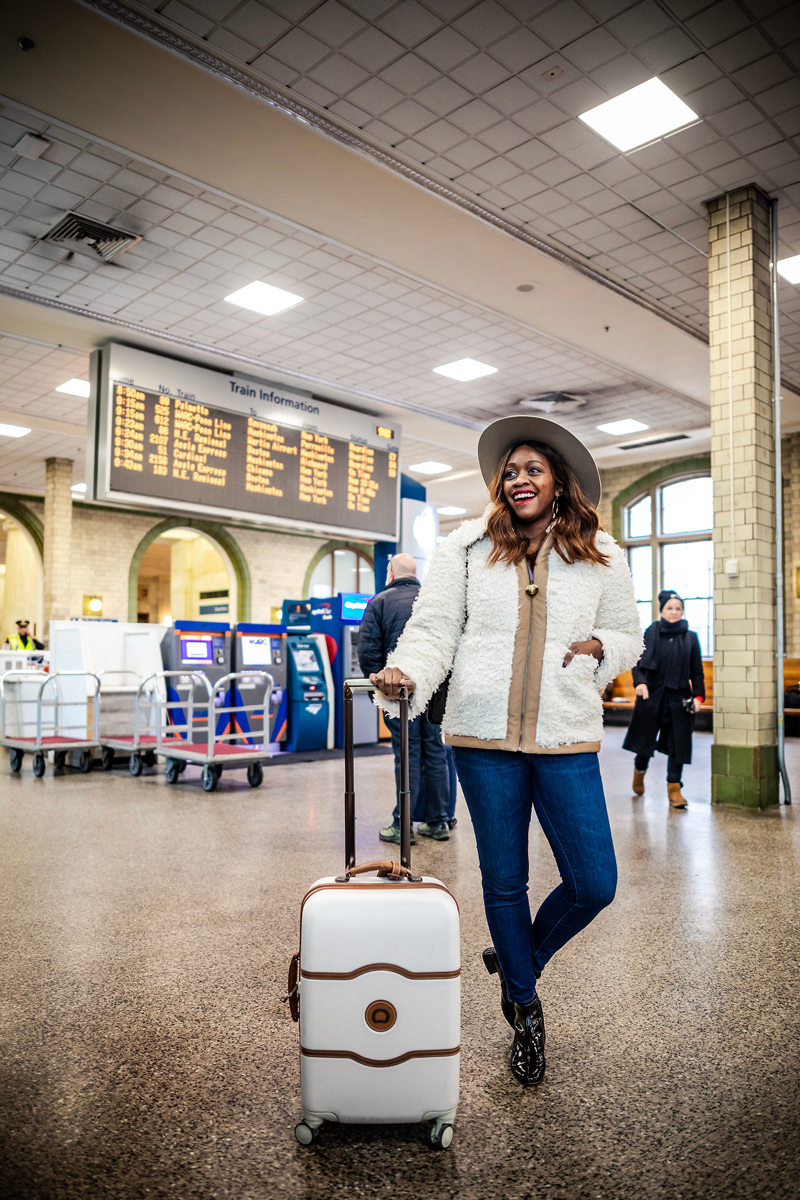 A Weekend in Baltimore travel guide featured by top US travel blogger, Alicia Tenise: Penn Station Baltimore Maryland