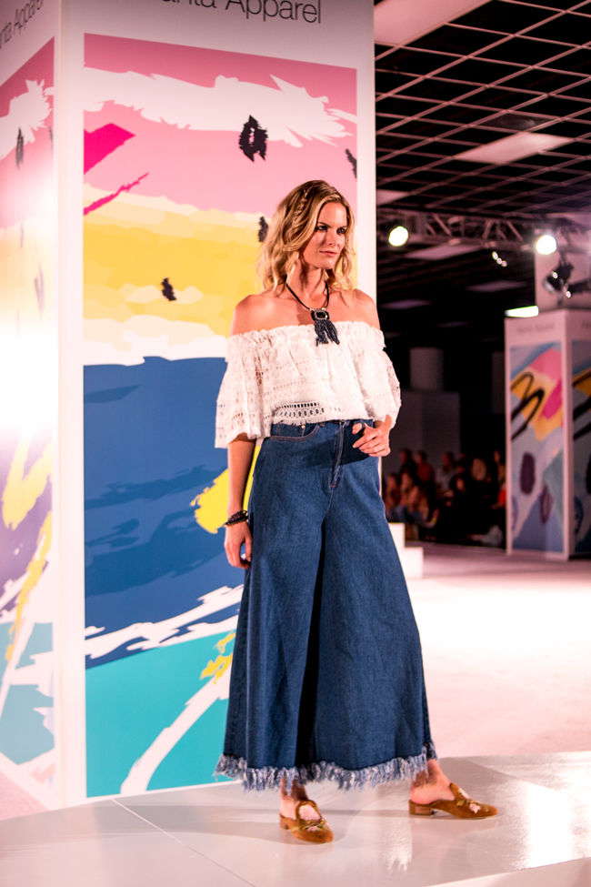 Wide Leg Pant Trend Denim for Spring 2018 - AmericaSmart by Washington DC fashion blogger Alicia Tenise