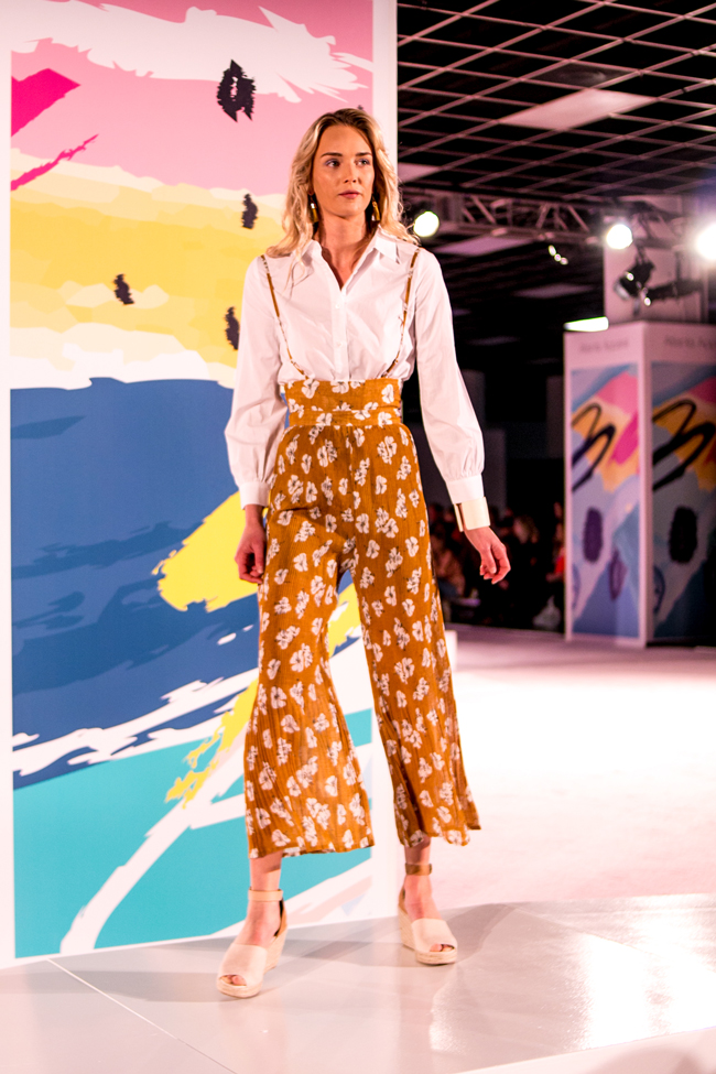 Floral Jumpsuit at Atlanta Apparel Mart - AmericaSmart by Washington DC fashion blogger Alicia Tenise
