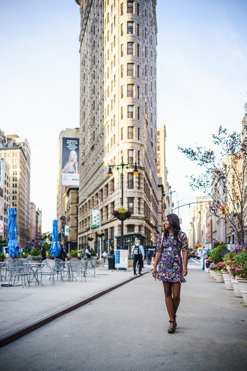 Flatiron Blog Photoshoot, What to Wear to New York Fashion Week