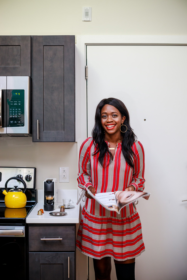 Blogger Home Tour - Coffee Talk: Why I'm Happy with My Single Life for 4 Years by popular Washington DC blogger Alicia Tenise