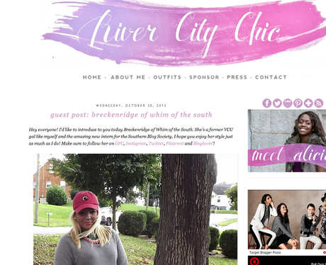 An Archive of River City Chic - Washington D.C. blogger Alicia Tenise shows you how to rebrand your blog.