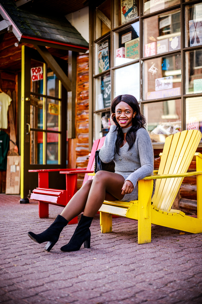 My Favorite Fall Layer: Hanes Tights by Washington DC fashion blogger Alicia Tenise