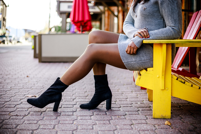 Hanes Perfect Nudes - My Favorite Fall Layer: Hanes Tights by Washington DC fashion blogger Alicia Tenise