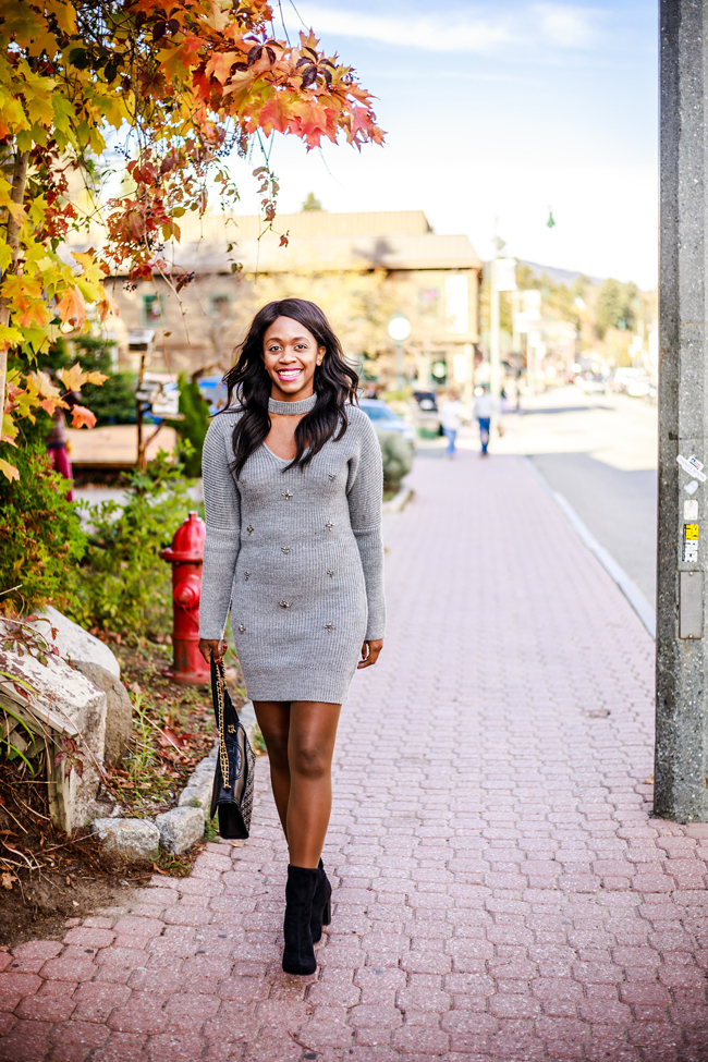 D.C. blogger Alicia Tenise wears the Hanes Perfect Tights - My Favorite Fall Layer: Hanes Tights by Washington DC fashion blogger Alicia Tenise