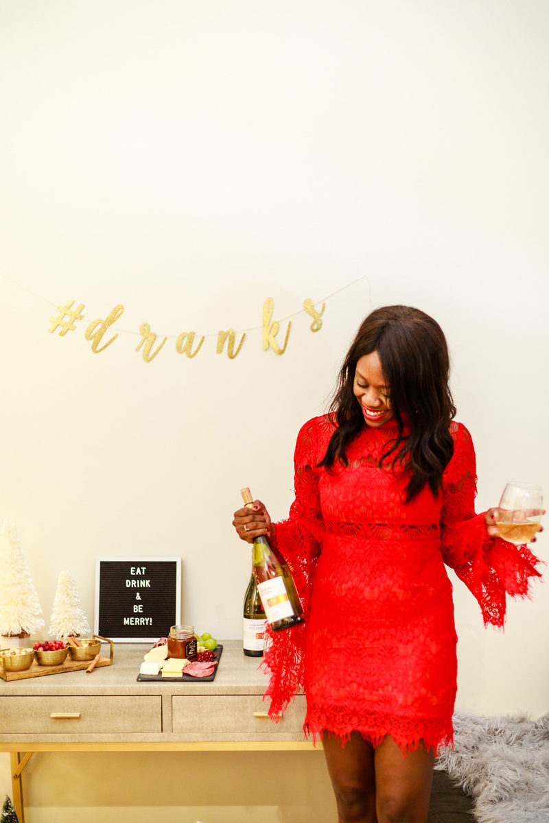 How to Host a Holiday Wine and Cheese Party - Holiday Entertaining: How to Throw the Perfect Holiday Party by Washington DC style blogger Alicia Tenise