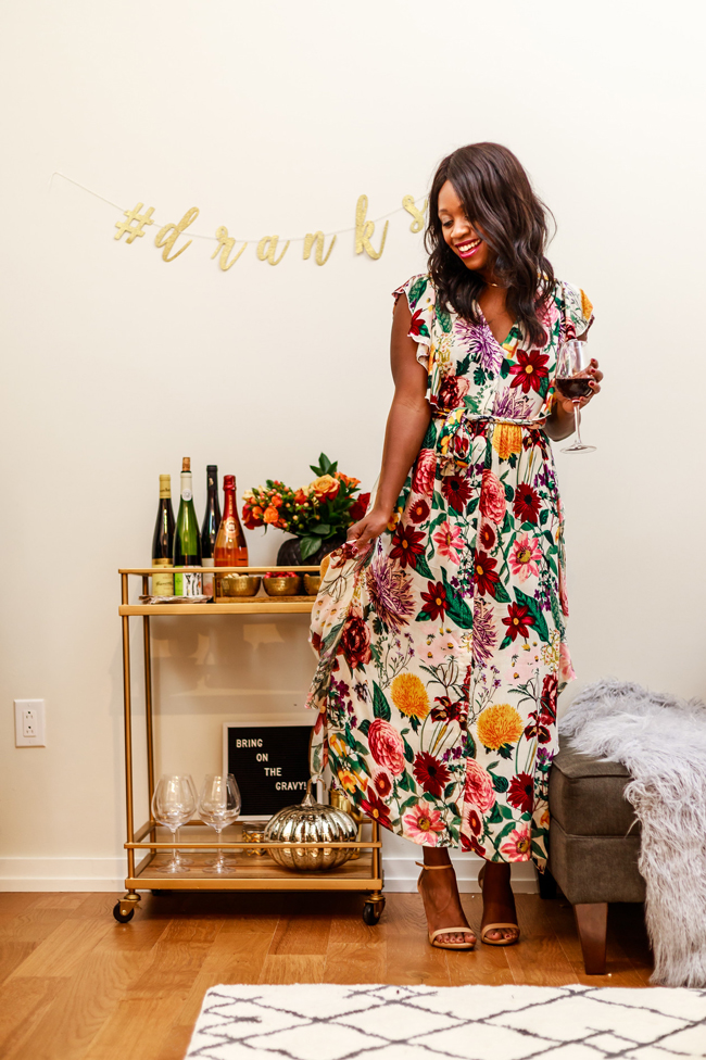 Dressy Thanksgiving Outfit Idea - Two Thanksgiving Outfit Ideas by Washington DC fashion blogger Alicia Tenise