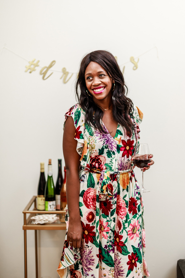 Affordable Dress for Thanksgiving - Two Thanksgiving Outfit Ideas by Washington DC fashion blogger Alicia Tenise