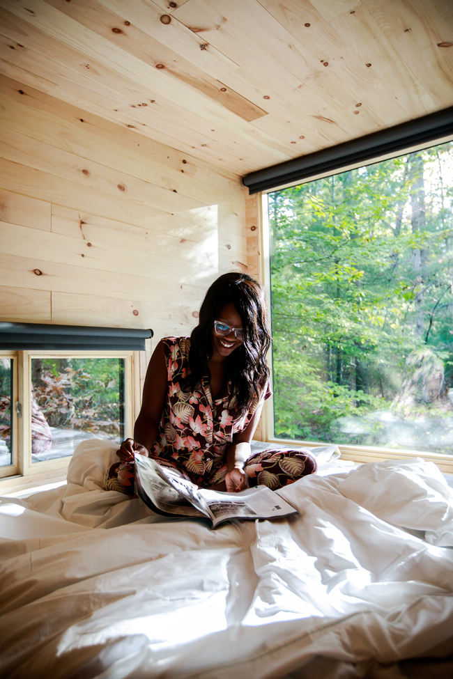 I Sort Of Went Glamping with Getaway House (And I Loved It) by Philadelphia travel blogger Alicia Tenise