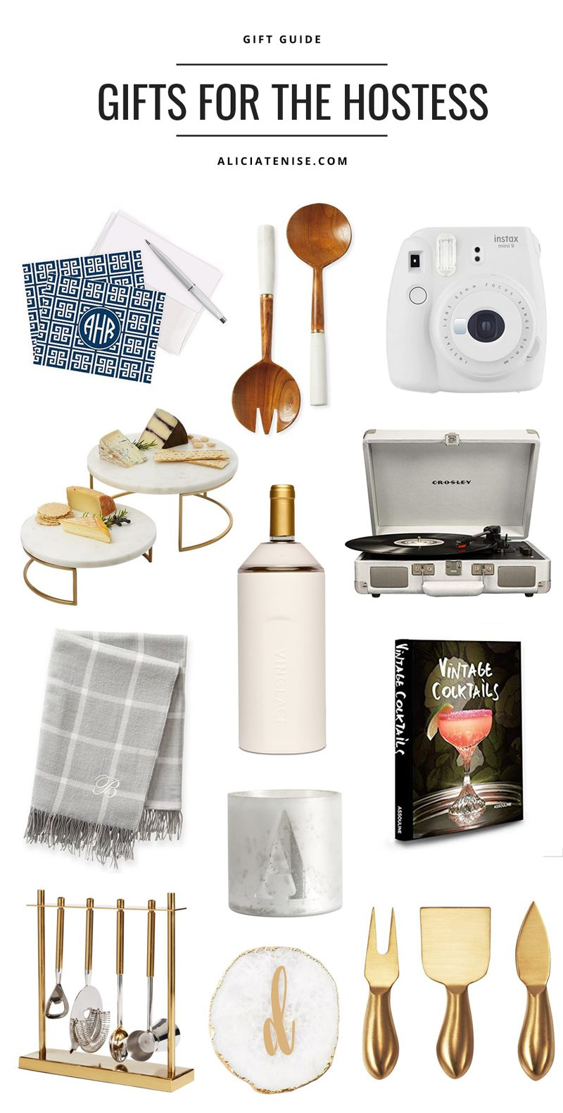 Holiday Gift Guide: Top 12 Best Hostess Gifts featured by top US life and style blogger, Alicia Tenise.