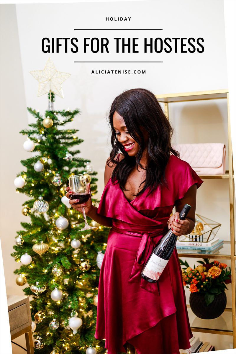 Blogger Alicia Tenise shares her favorite hostess gifts - Holiday Gift Guide: 12 Amazing Hostess Gifts by Washington DC style blogger Alicia Tenise
