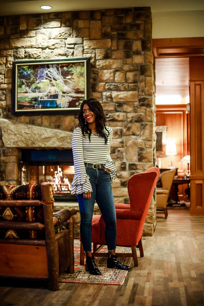 High Peaks Resort Lake Placid Renovated Lobby - 48-Hour Travel Guide: Things to Do in Lake Placid by Washington DC travel blogger Alicia Tenise