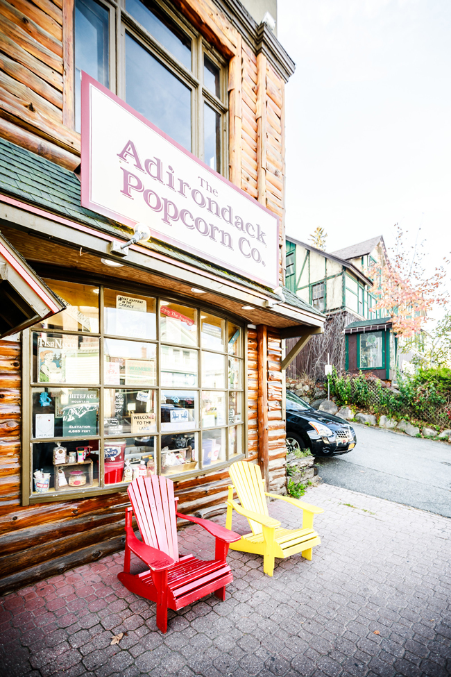 Adirondack Popcorn Co - 48-Hour Travel Guide: Things to Do in Lake Placid by Washington DC travel blogger Alicia Tenise