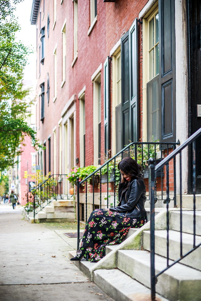 Best Neighborhoods in Philly, Fall Dressy Outfit - Living in Philadelphia: A 6-Month Check-In by popular style blogger Alicia Tenise