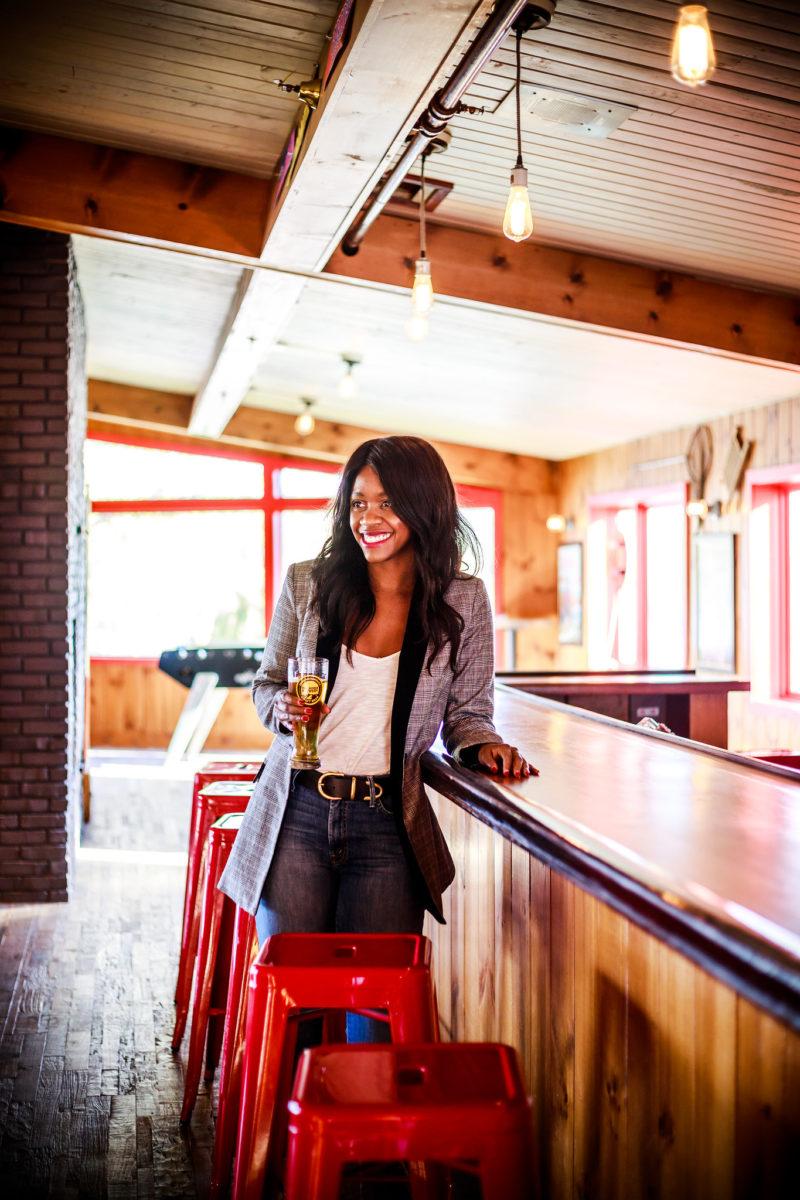 How to Style a Plaid Blazer - The Plaid Blazer by Philadelphia fashion blogger Alicia Tenise