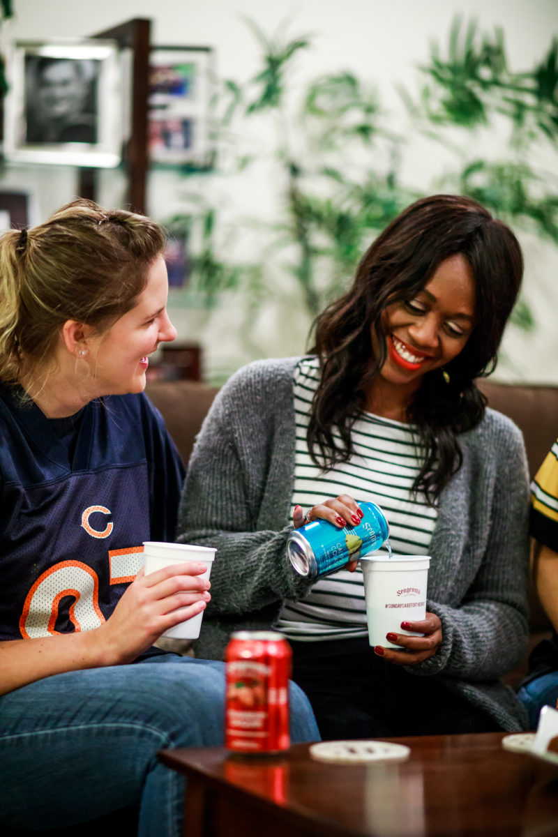How I Spend NFL Sundays: NFL Party with Seagrams by Washington DC lifestyle blogger Alicia Tenise