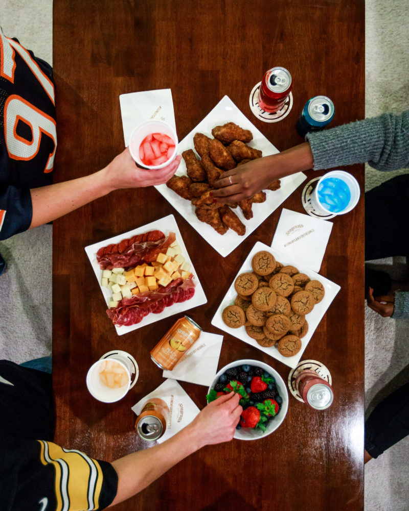 How to Host an NFL Sunday Party - How I Spend NFL Sundays: NFL Party with Seagrams by Washington DC lifestyle blogger Alicia Tenise