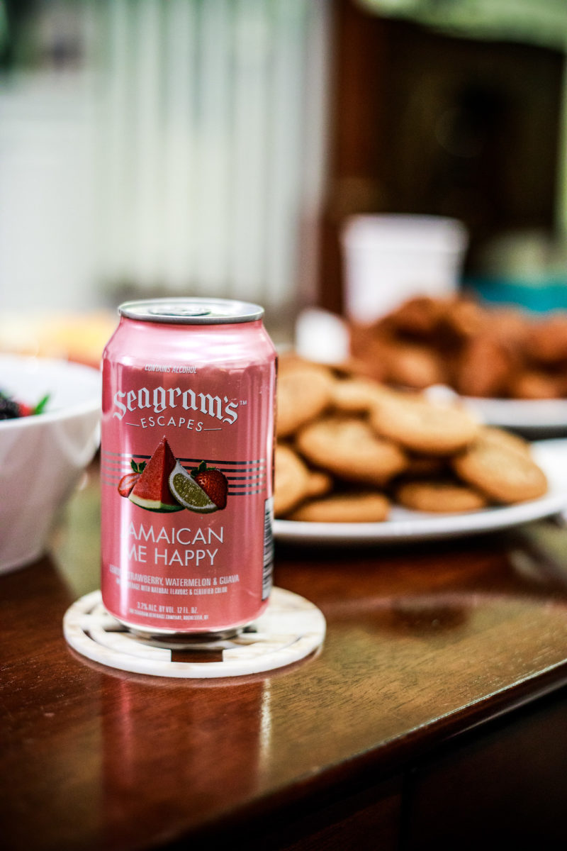 Seagram's Escapes Jamaican Me Happy - How I Spend NFL Sundays: NFL Party with Seagrams by Washington DC lifestyle blogger Alicia Tenise