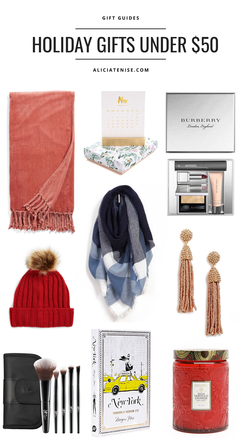 Holiday Gift Guide For Her Under 50 Alicia Tenise