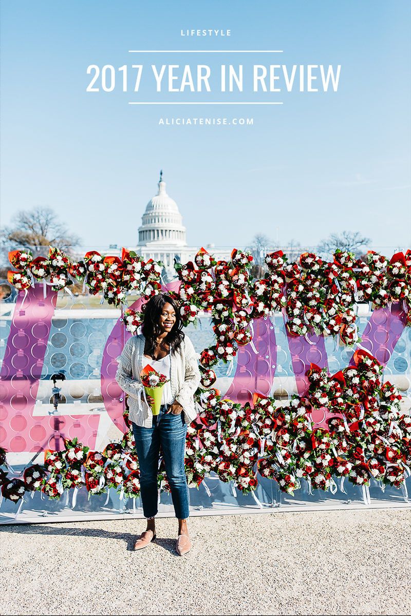 Alicia Tenise 2017 Year in Review by Washington DC blogger Alicia Tenise