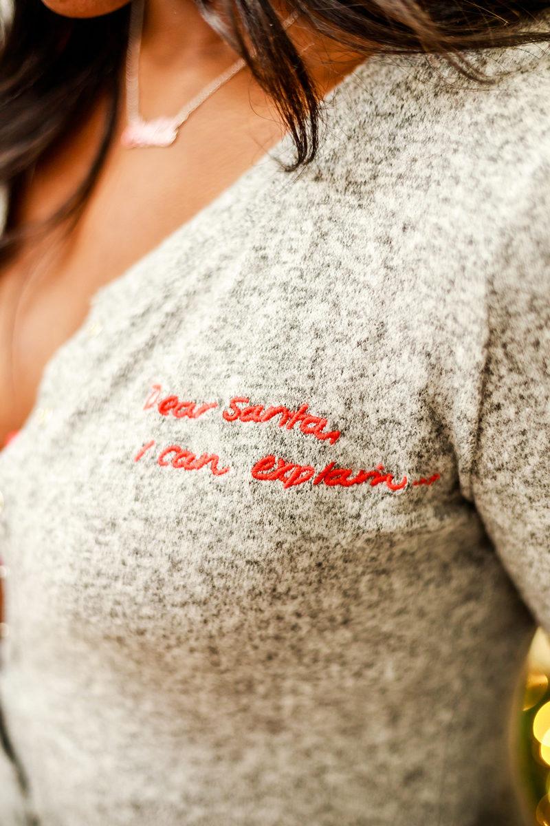 Holiday Pajamas Ideas - The Best Holiday Pajamas by Washington DC style blogger Alicia Tenise