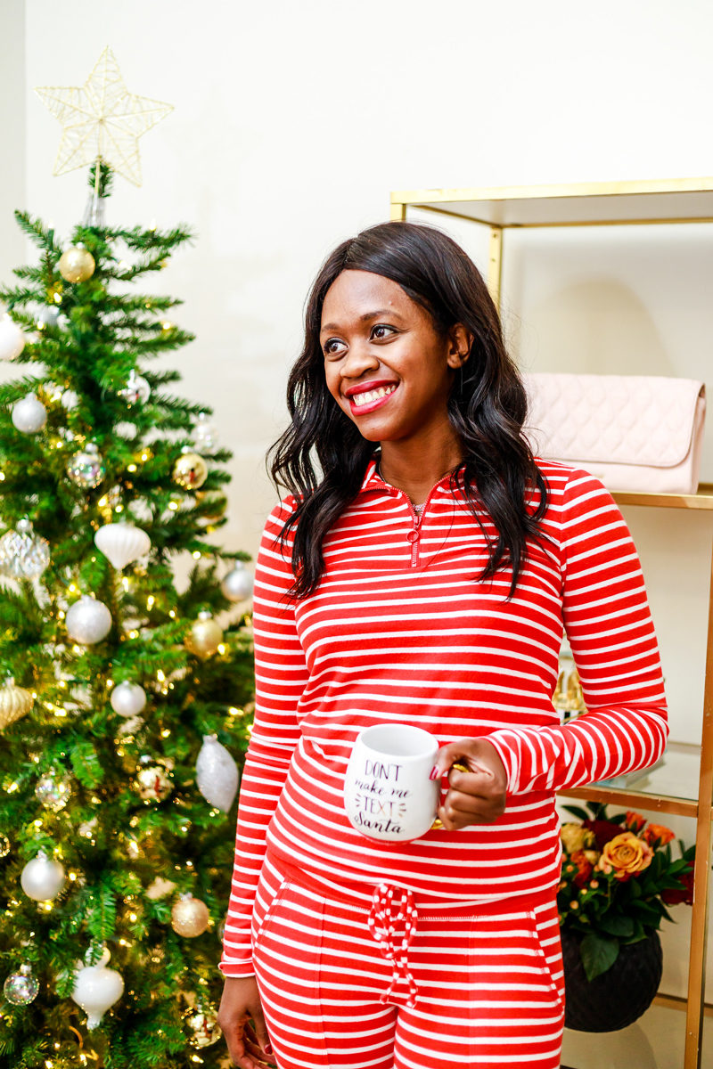 What to Wear on Christmas Day - The Best Holiday Pajamas by Washington DC style blogger Alicia Tenise