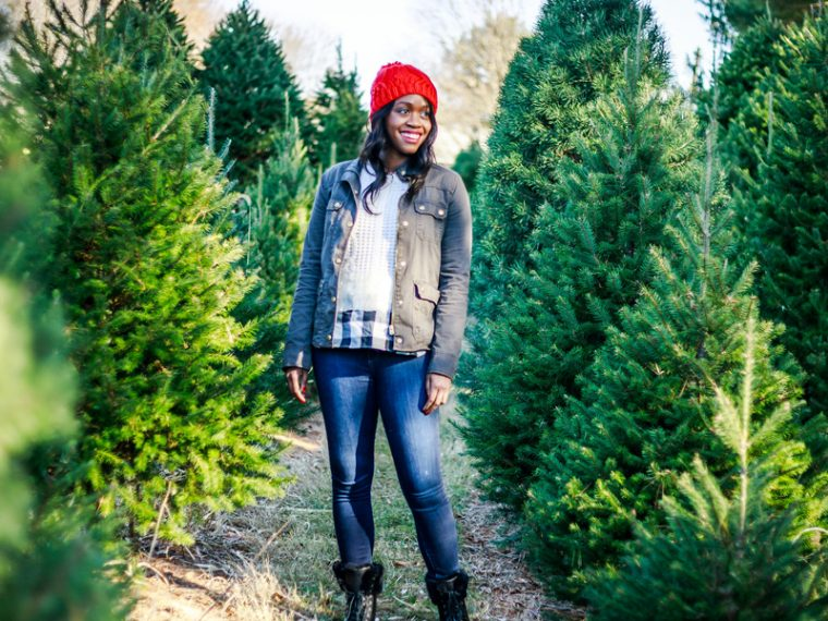 J.Crew Field Jacket, Casual Christmas Outfit Idea