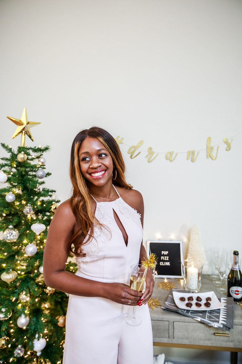 New Years Eve Entertaining Ideas - Hosting a New Years Eve Party with IKEA by Washington DC style blogger Alicia Tenise