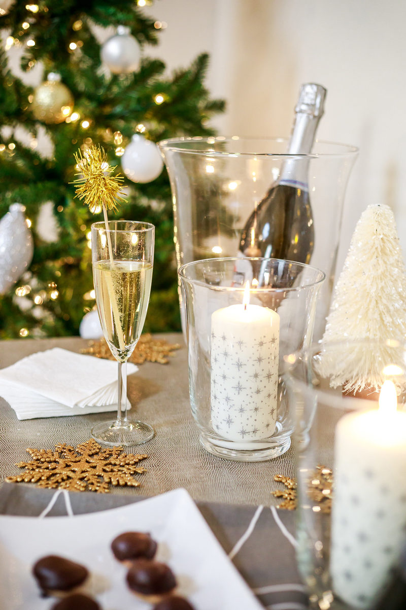 New Years Eve Affordable Decor Ideas with IKEA - Hosting a New Years Eve Party with IKEA by Washington DC style blogger Alicia Tenise