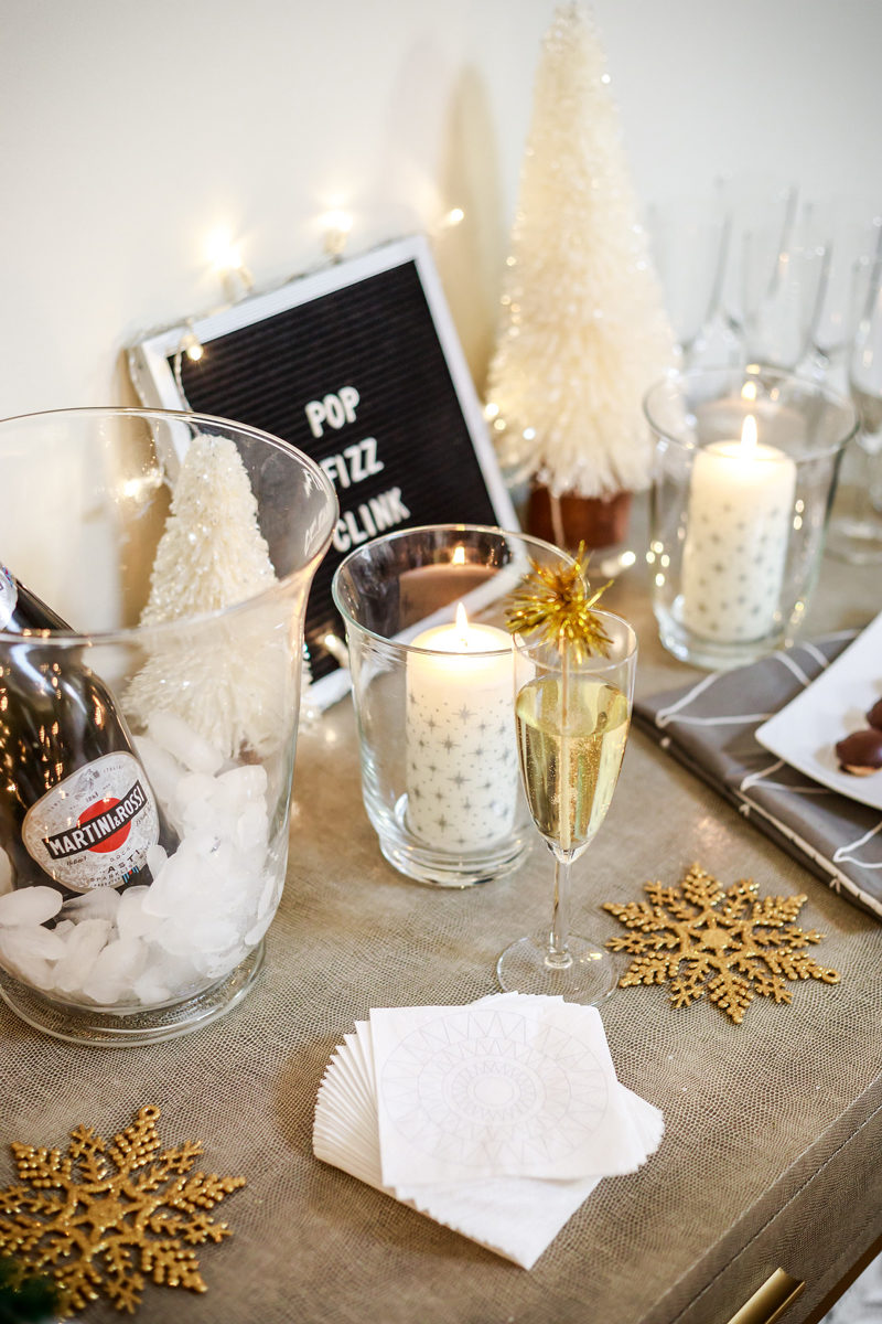 Hosting a New Years Eve Party with IKEA by Washington DC style blogger Alicia Tenise