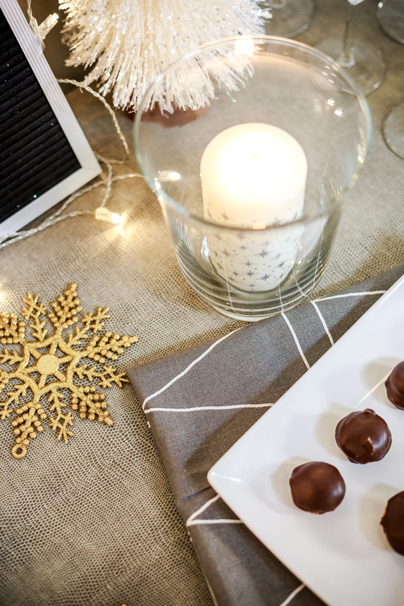 Decorating for New Years Eve with Christmas Decor - Hosting a New Years Eve Party with IKEA by Washington DC style blogger Alicia Tenise